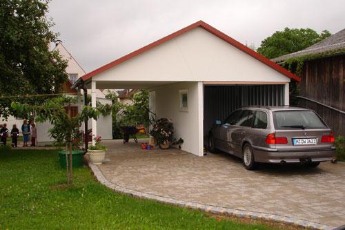 carports und garagen. Black Bedroom Furniture Sets. Home Design Ideas