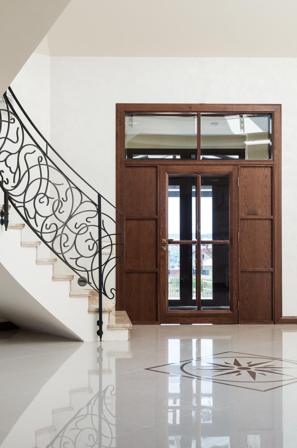 sauberlauf im eingangsbereich f r saubere b den im haus. Black Bedroom Furniture Sets. Home Design Ideas